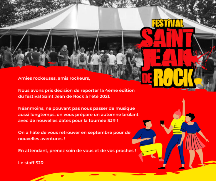 Annonce annulation SJR FB